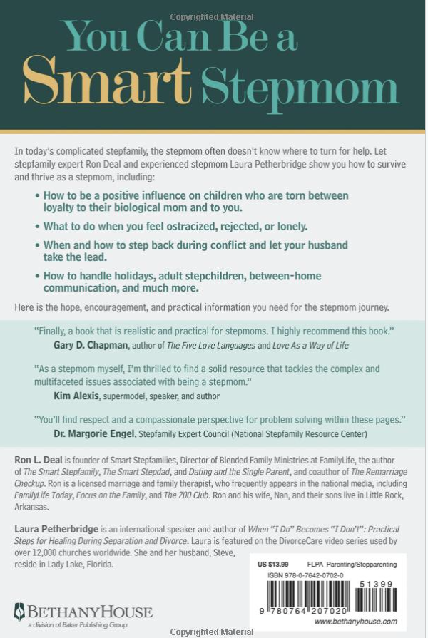Ron L. Deal's The Smart Stepmom Book Review.